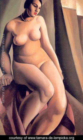 PLUS SIZE ART: La Belle Rafaela by Tamara de Lempicka and More