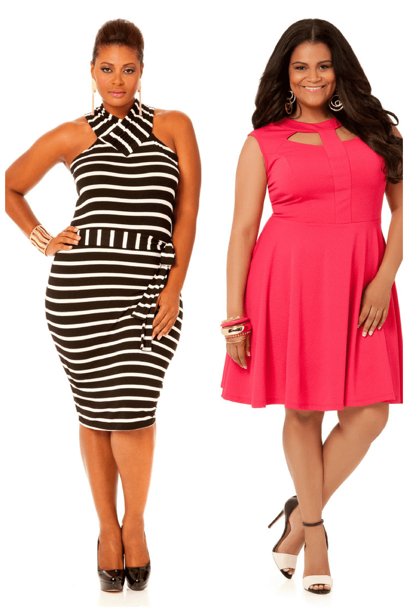 ashley stewart plus size dresses