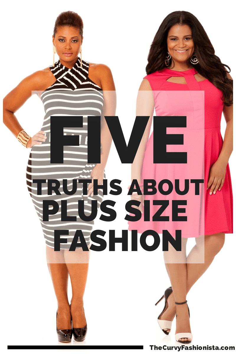 five truths about plus size fashion