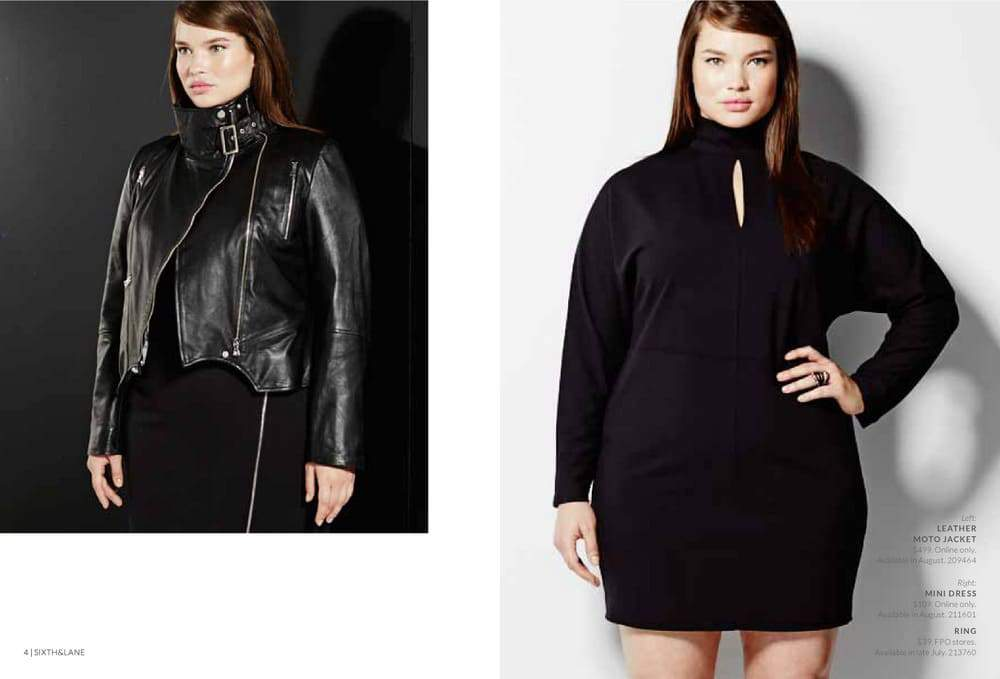 The Lane Bryant 6th and Lane Look Book