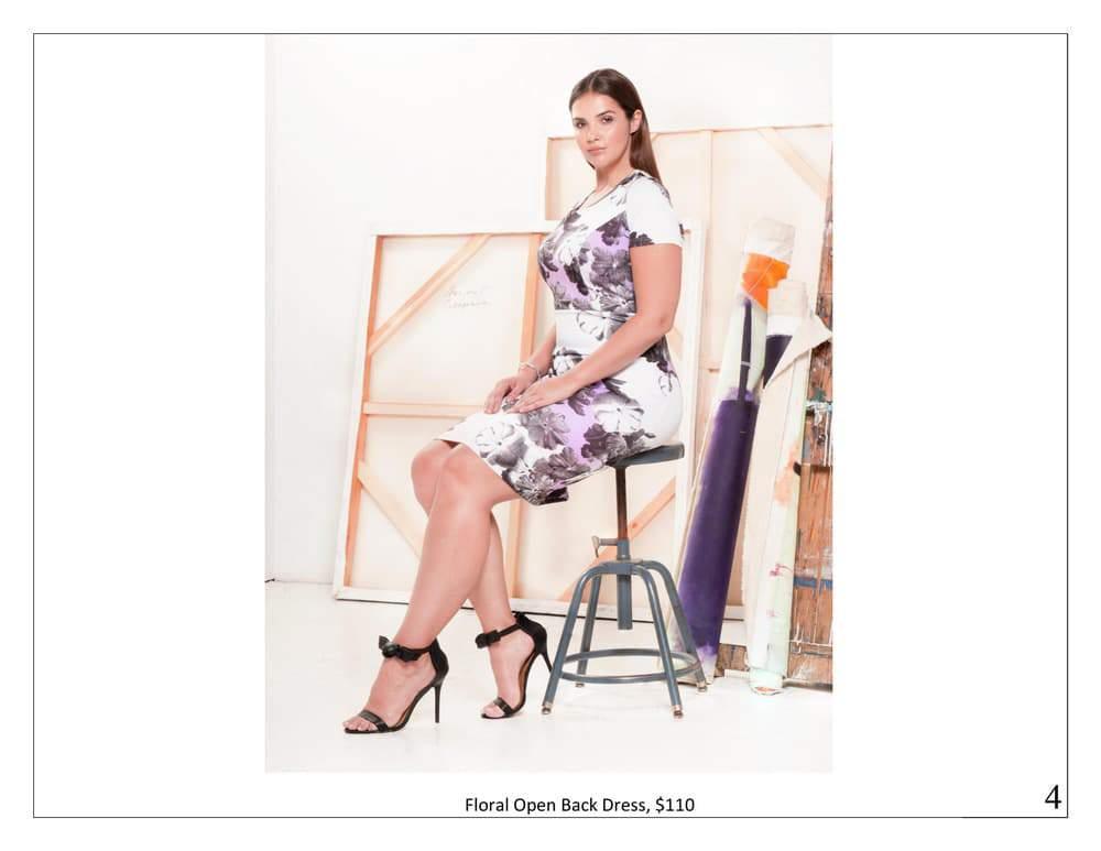 ELOQUII Violet Femmes Summer Look Book
