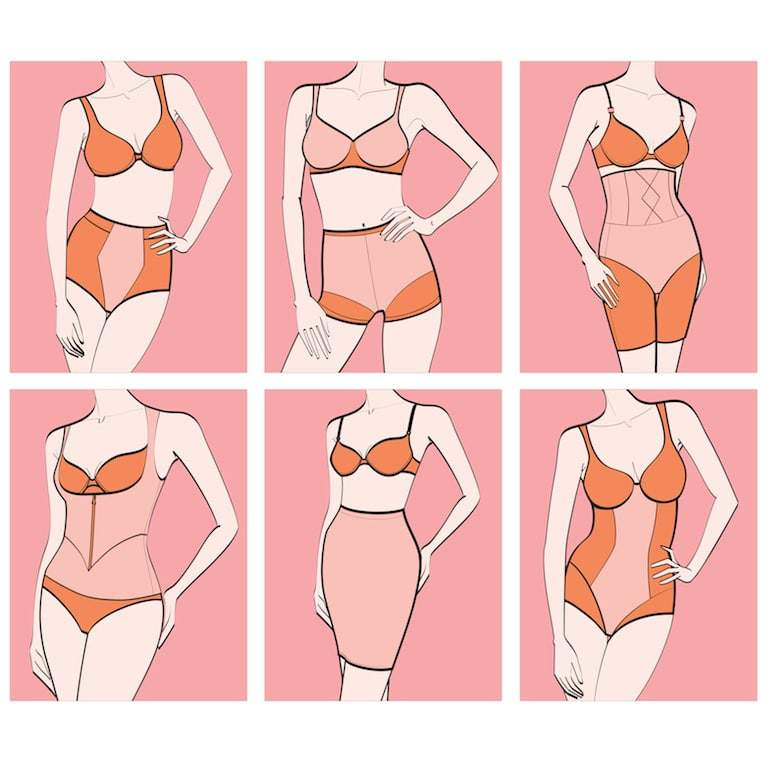 Types of Plus Size Shapewear