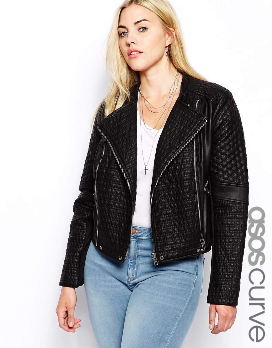 My Radar: Plus Size Leather Jackets (Faux too) For Fall