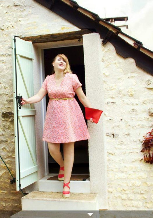 French Plus Size Designers: Anna Poe