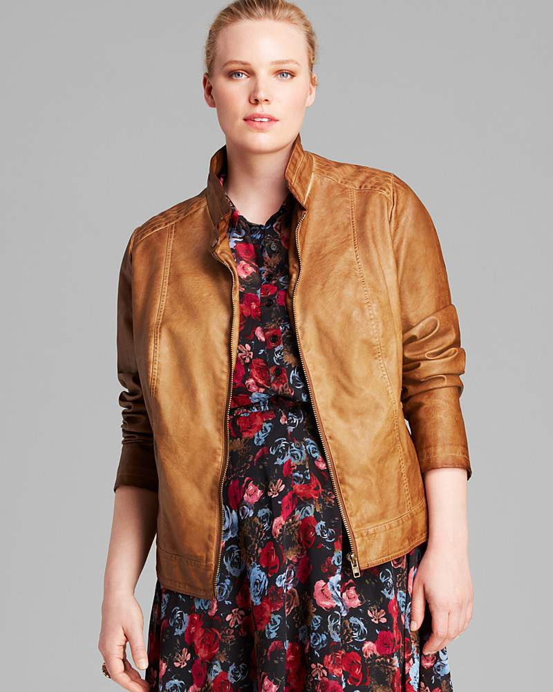 On My Radar: Plus Size Leather Jackets (Faux too) For Fall