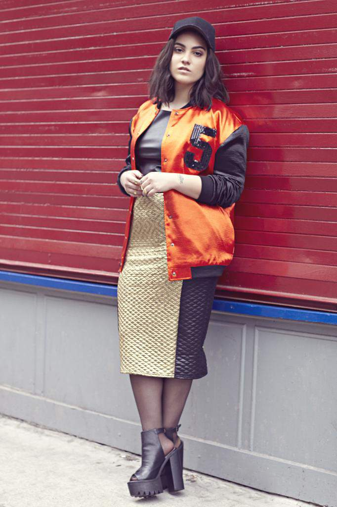 Nadia Aboulhosn Serves Fall Fashion for Boohoo Plus