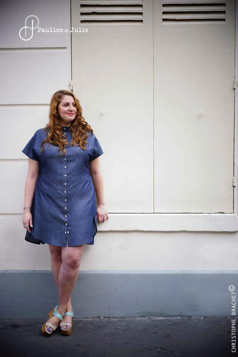 French Plus Size Designers: PAULINE ET JULIE