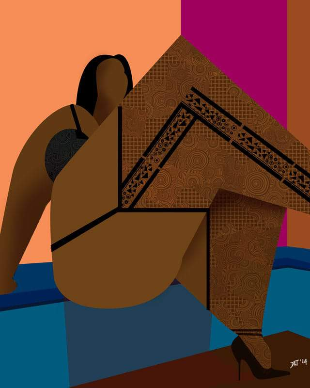 "Plus Size Artist Spotlight: David "" Moko Jumbie "" James"