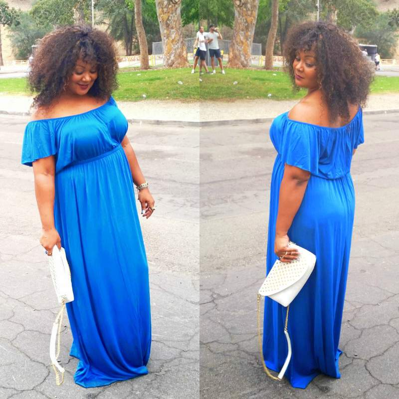 #ZapposStyle and My Ultimate Plus Size Summer Essential- The Maxi Dress