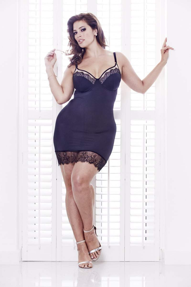 Plus Size Designer Anna Scholz for Simply Be Lingerie  Collection