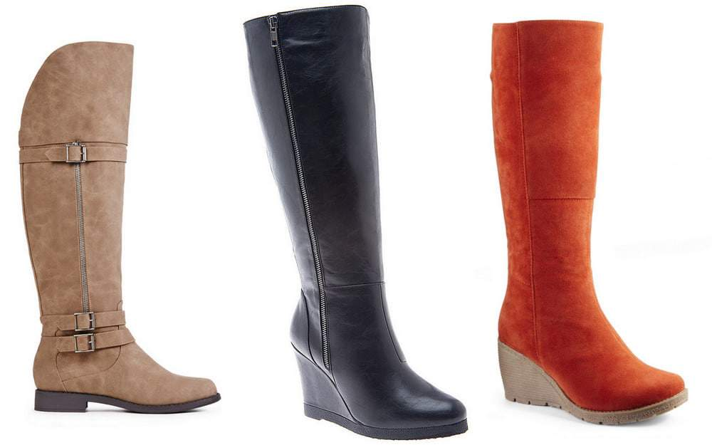 Wide Calf Boots for Fall