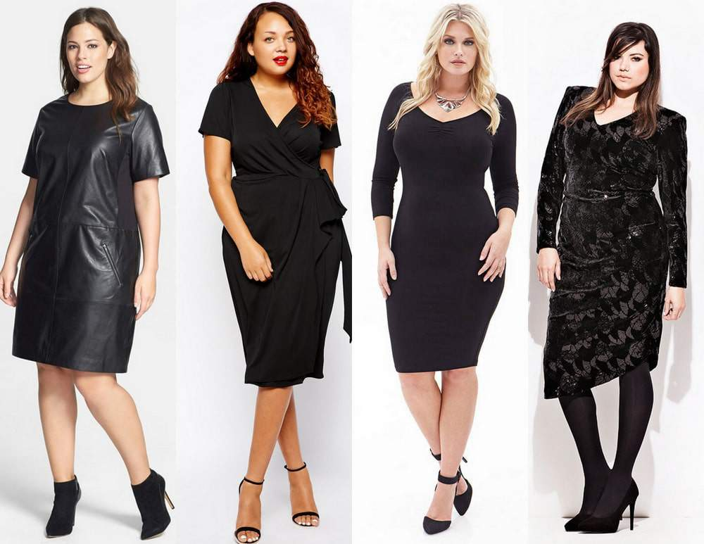 15 Must Have Plus Size Little Black Dresses for the Fall