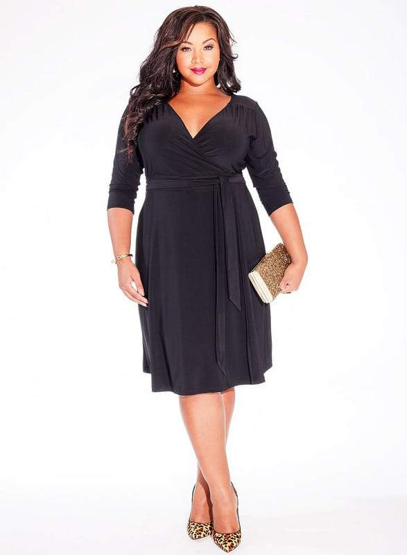 Igigi Dominique Plus Size Dress in Black