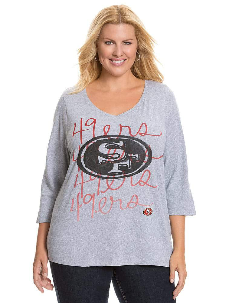 Lane Bryant NFL Plus Size 49ers Tee