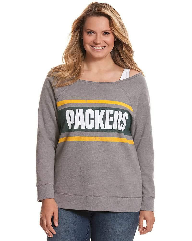 Lane Bryant NFL Plus Size Green Bay Packers Sweatshirt
