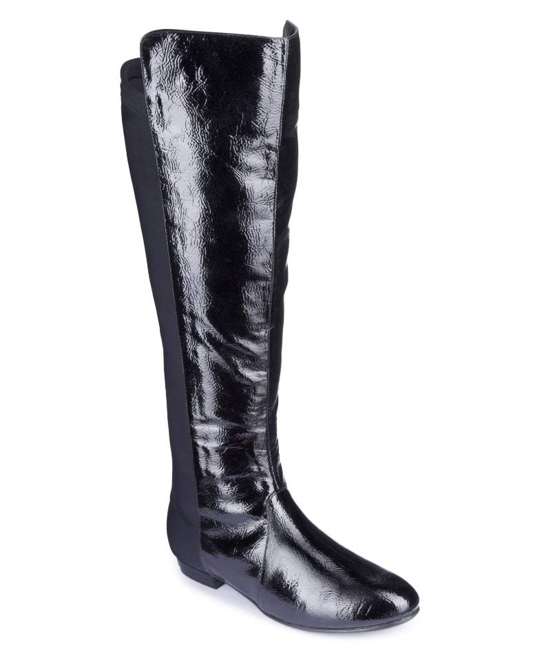 SOLE DIVA STRETCH Wide Calf BOOTS at Simply Be