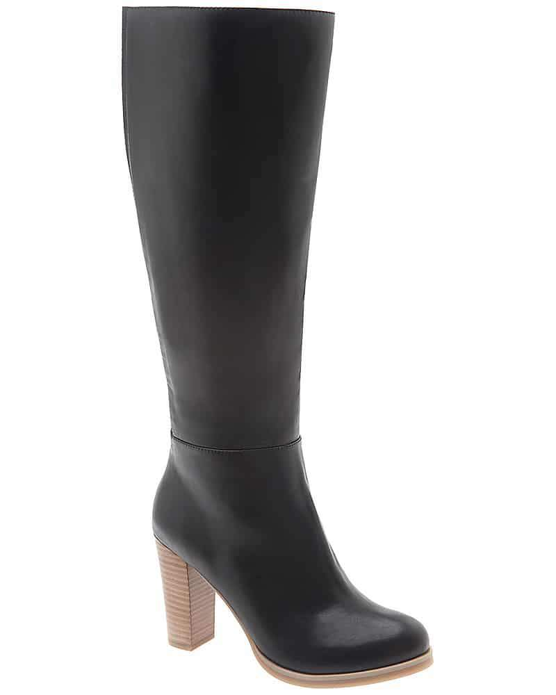 Stacked Heel Dress Wide Calf boot from Lane Bryant