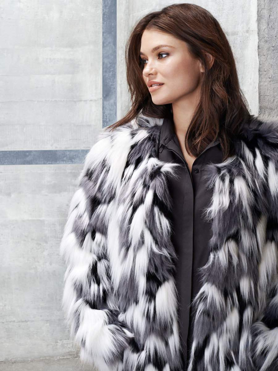 Junarose Faux Fur Topper at Junarose feature