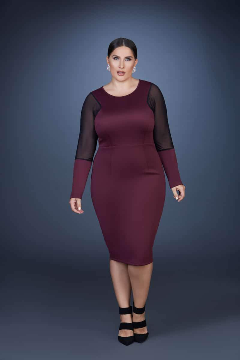 Plus Size Designer Collection Z by Zevarra Fall 2014