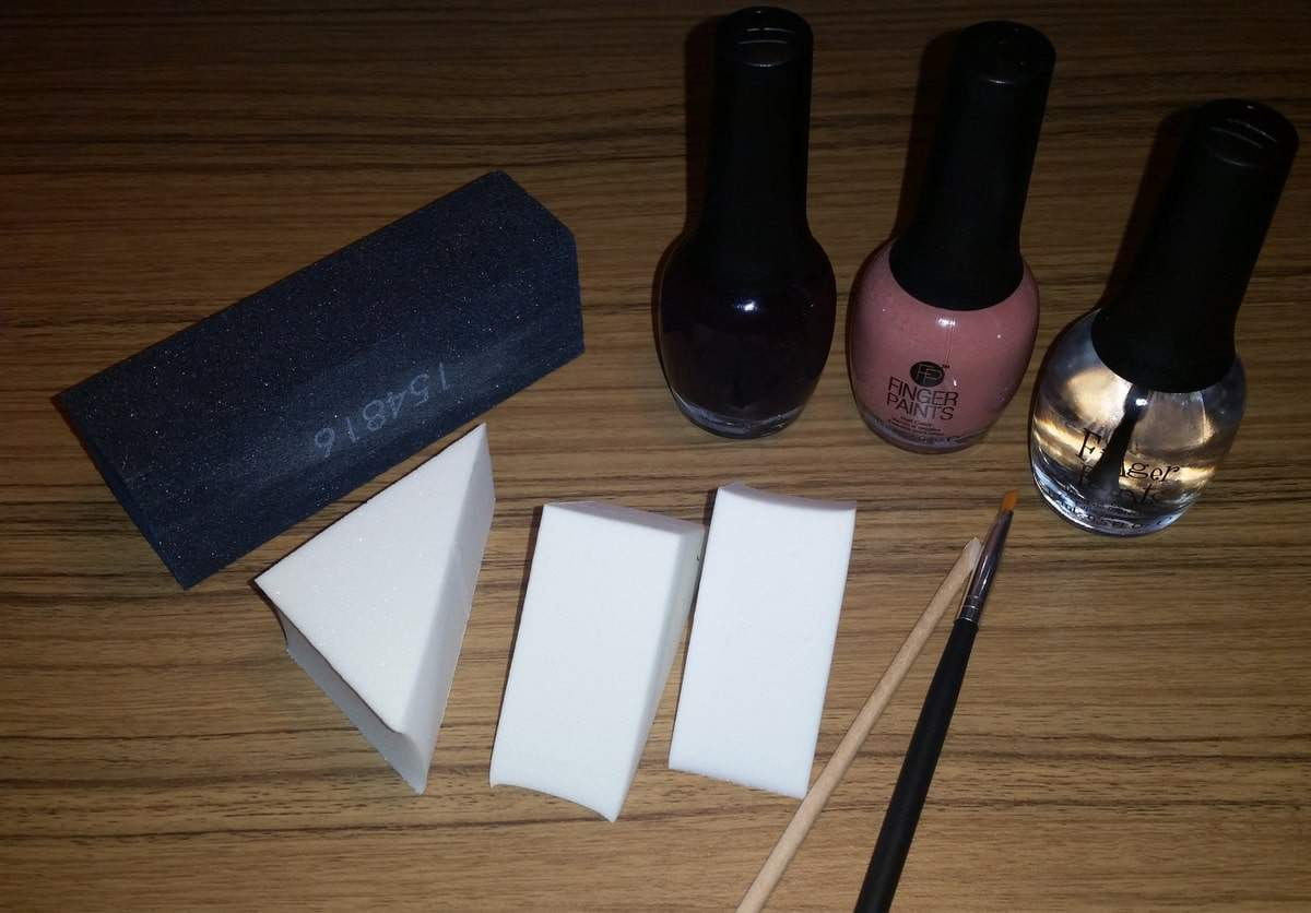 Ombre Nails, Fingerpaints, and ThanksGifting with Sally Beauty