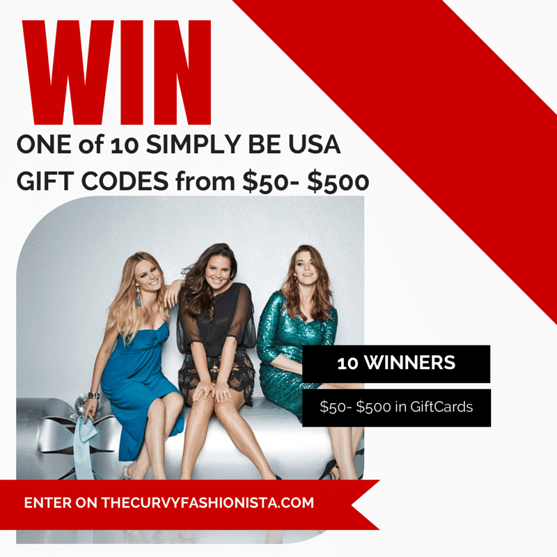 Cyber Monday Giveaway With Simply Be USA!