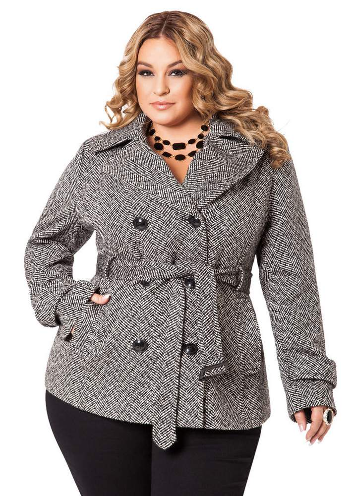 10 Perfectly Polished Plus Size Coats Under $150