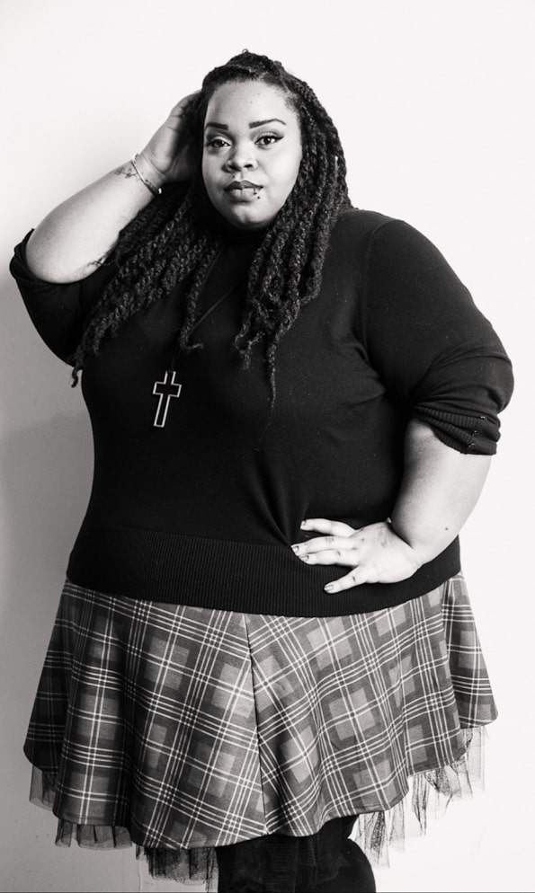 Fashion blogger Spotlight- Lucia of U Cant Wear That on The Curvy Fashionista