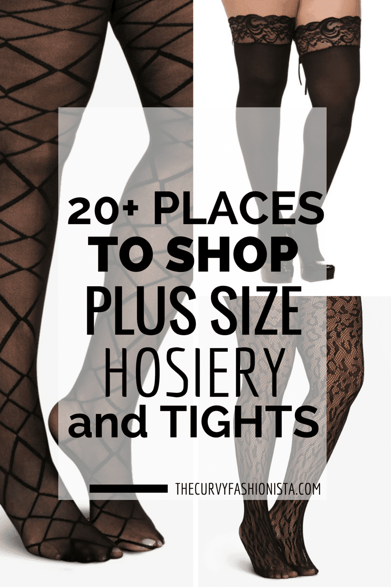 20 places to shop plus size hosiery and tights