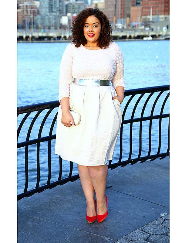 Plus Size Fashion Trends 2015 Plus size model turned blogger