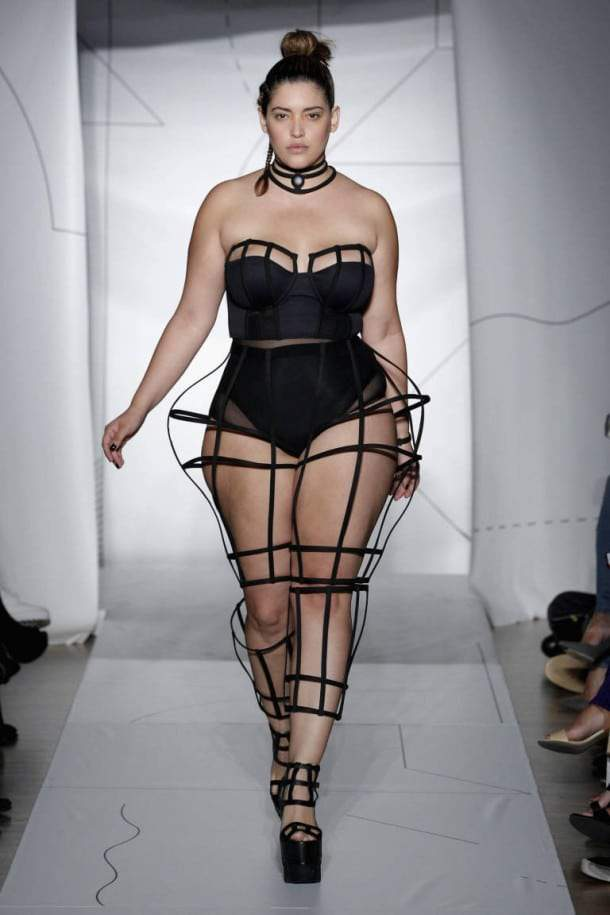 Plus Size Fashion Show 2015 when a plus size model was