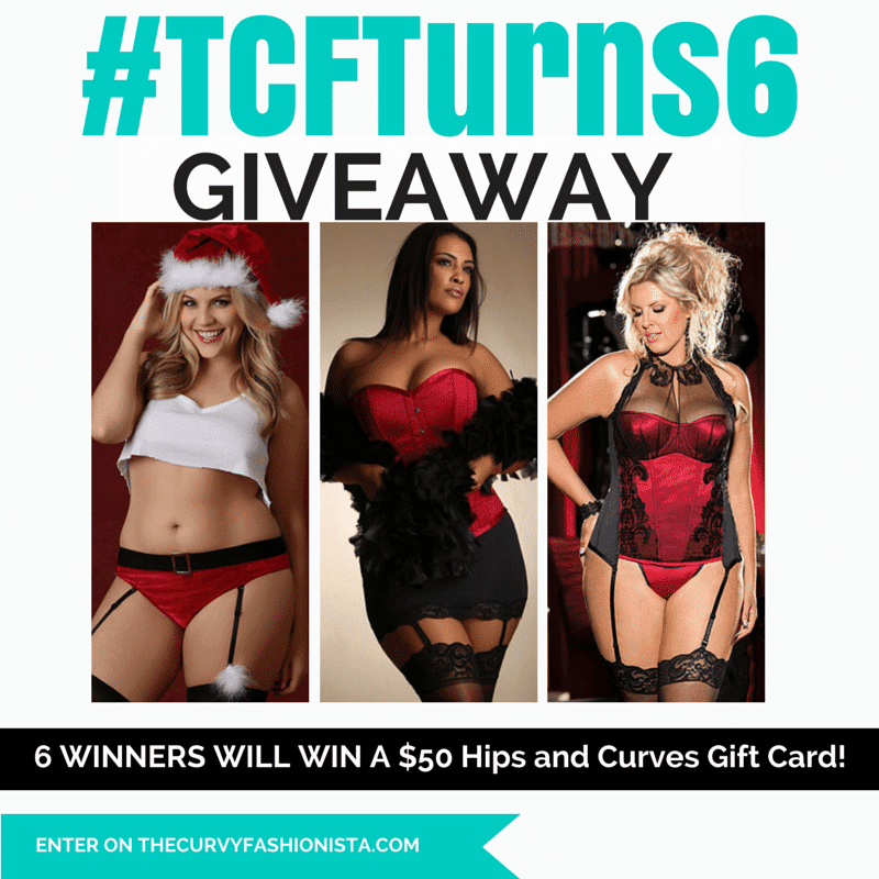 TCFTurns6 Giveaways: Heat up the Holidays with Hips and Curves!