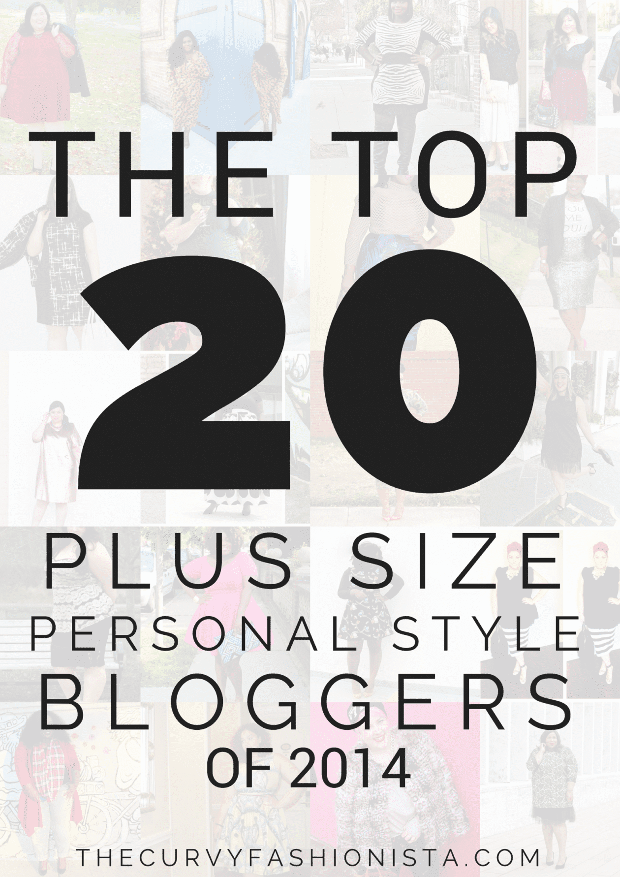 The Top 20 Breakout Plus Size Personal Style Bloggers of 2014