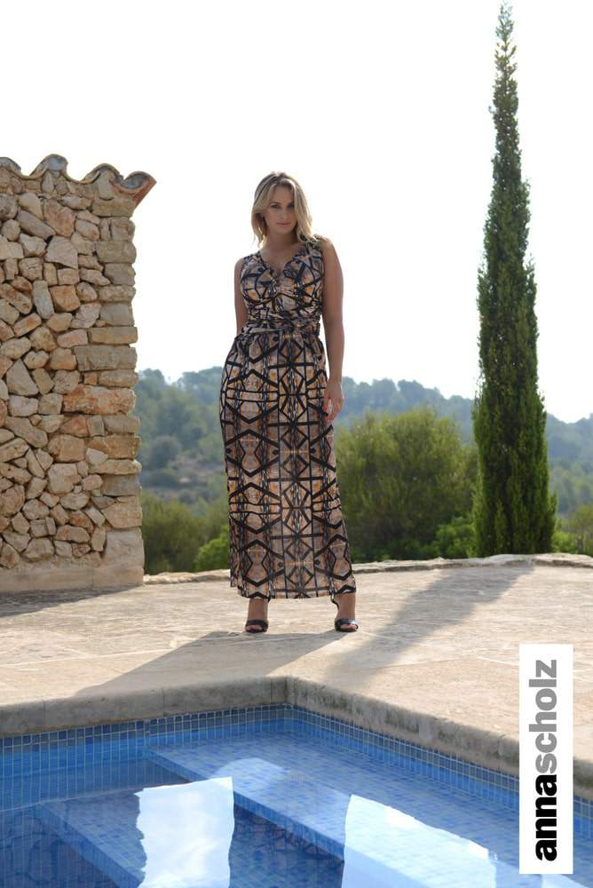 Anna Scholz White Label Spring 2015 Collection: Wanderlust