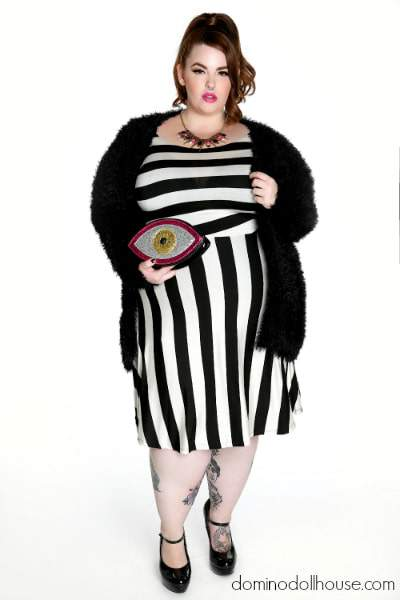 Domino Dollhouse Vintage Valentine Featuring Tess Holliday