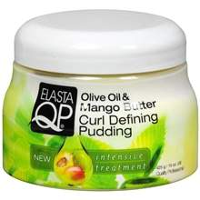 Elasta QP Oilve Oil and Mango Butter Curl Defining Pudding