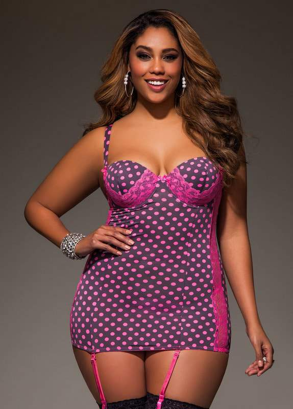 Meet Dare to Bare- Ashley Stewart's New Plus Size Lingerie ...