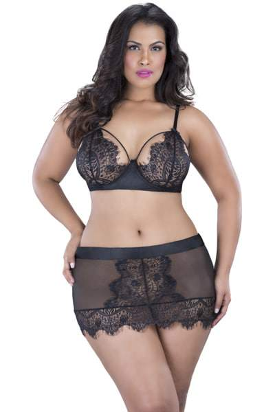 Curves By Oh La La Cheri Plus Size Lingerie