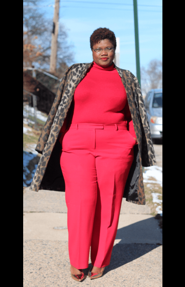 Fashion Blogger Spotlight:  Georgette of Grown and Curvy Woman