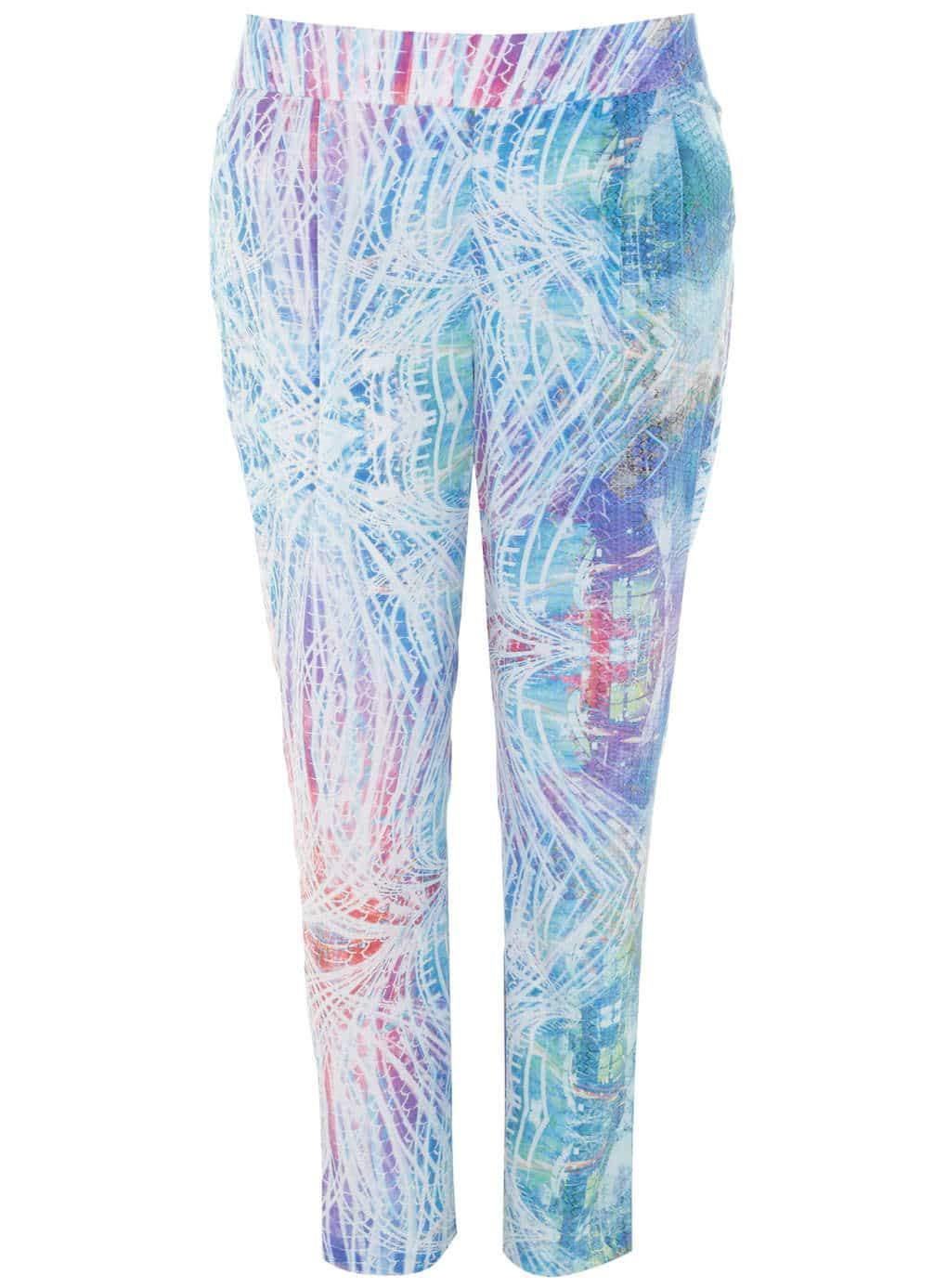 Cut for Evans Digital Print Trousers