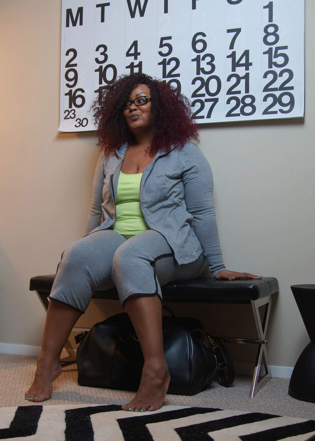 Blogger Off Duty with Rainbeau Curves: Welcome to My Office