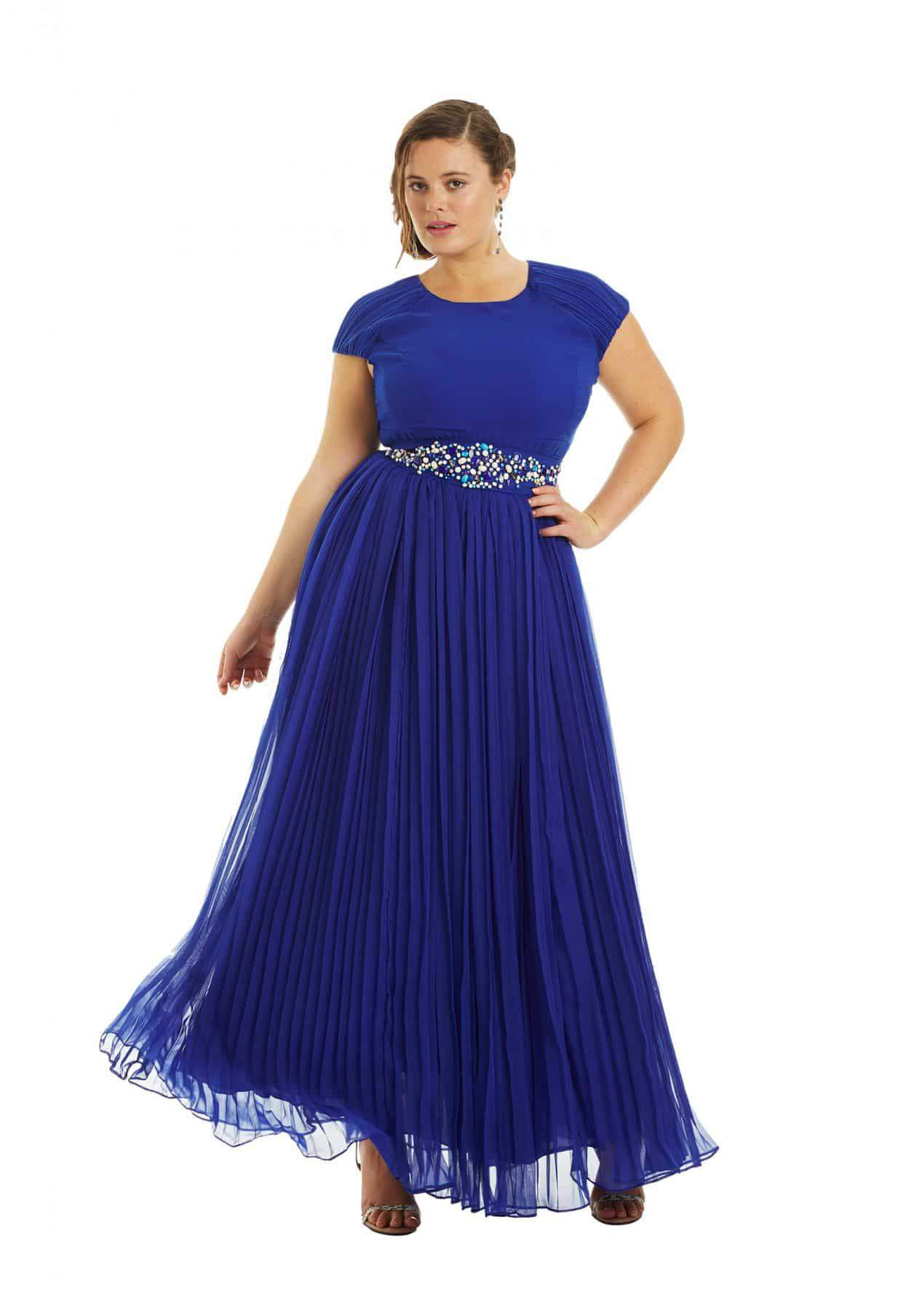 Dorothy Plus Size Prom Dress