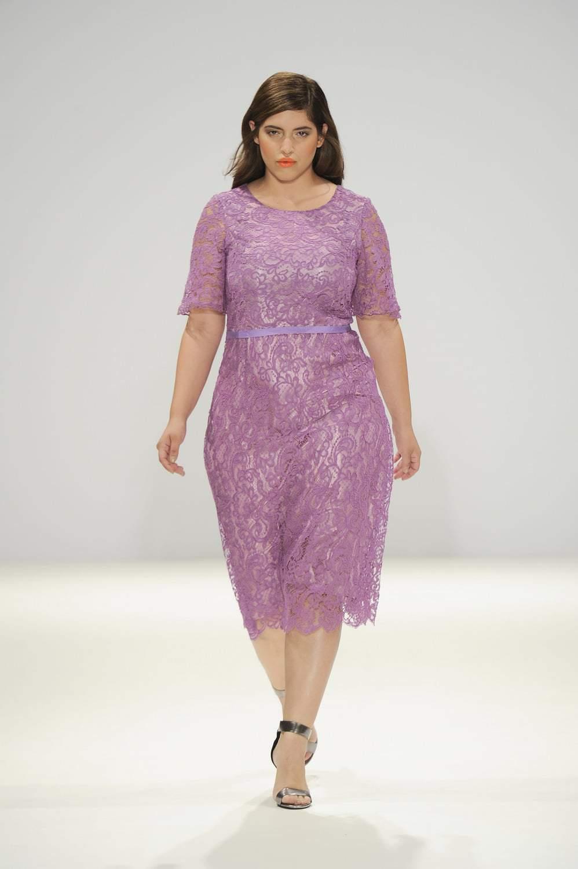 Hema Kaul Lace Dress by Evans on TheCurvyFashionista.com