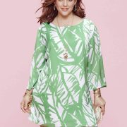 Lilly Pulitzer for Target Look Book with Plus Size Looks on TheCurvyFashionista.com