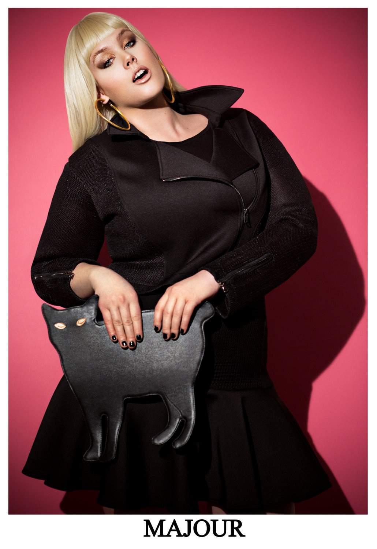 New Plus Size Online Boutique- Shop Majour on TheCurvyFashionista.com