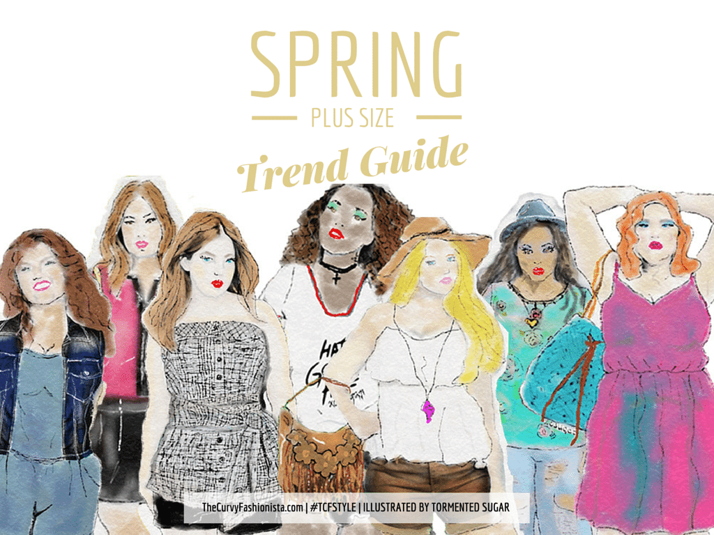 Your Spring 2015 Plus Size Trend Guide!