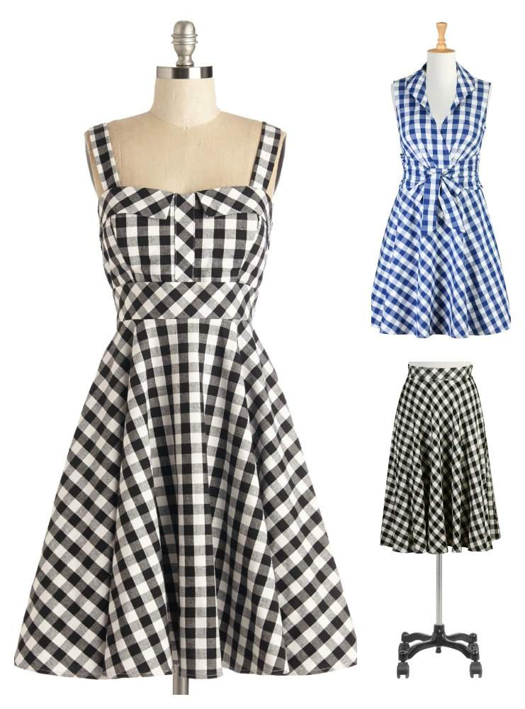 Spring 2015 Plus Size Gingham