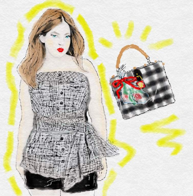 Spring 2015 Plus Size Trends- Gingham Style