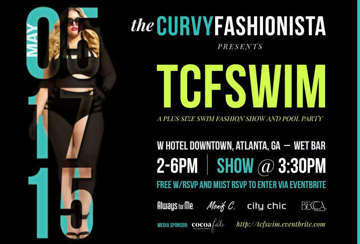 ATLANTA! Save the Date for My First Event: TCFSWIM!