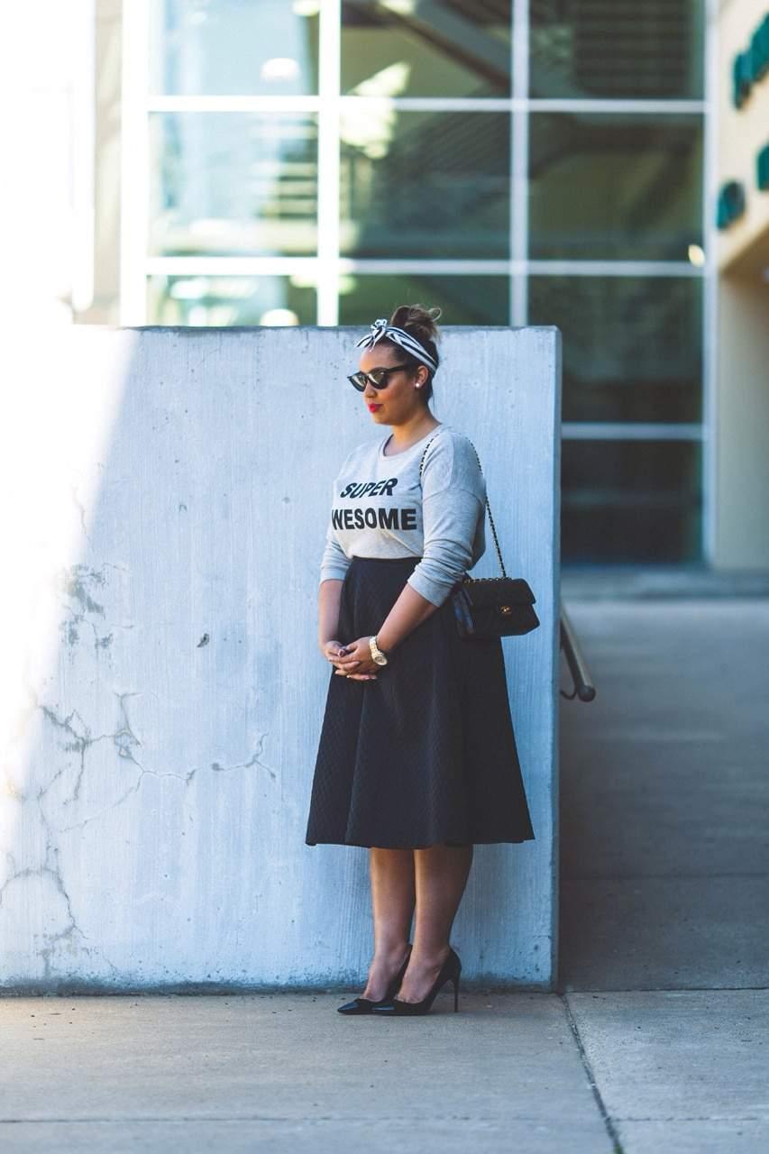 Plus size blogger spotlight: Rochelle from Beauticurve on TheCurvyFashionista.com