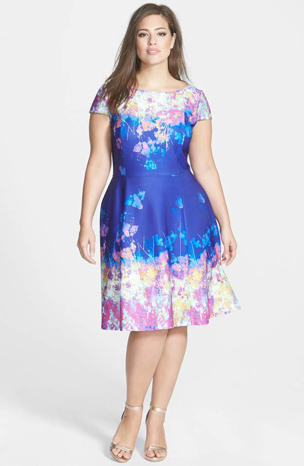 TCFStyle Find: 10 Plus Size Wedding Guest Dresses